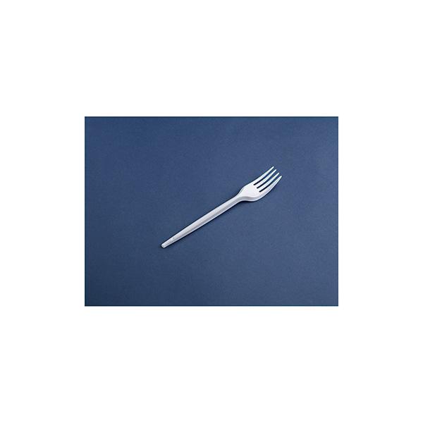 Tenedor de plástico Pack: 25 unid
