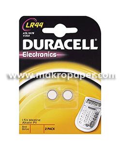 Pilas Duracell botón LR44 (blister 2u)