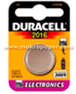 Pila Duracell botón CR2016