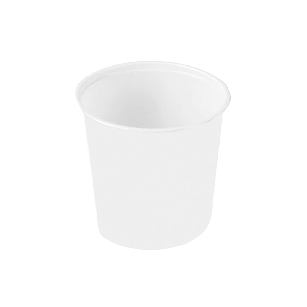 Vaso blanco 50 unid 80 cc