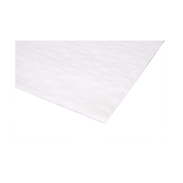 Rollo de mantel papel blanco