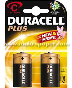Pila Duracell alcalinas LR14 C