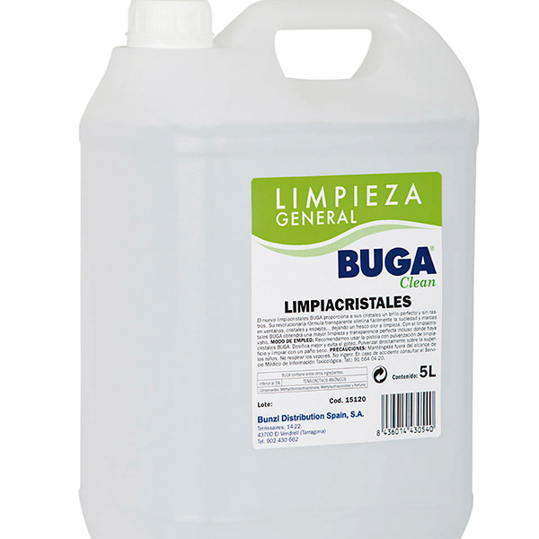 Limpiacristales gran formato 5 litros