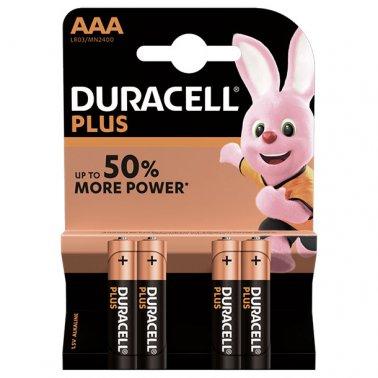 AAA Simple Blister 4 piles Lr03 Duracell
