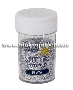 Purpurina Makro Paper 24 und. 8gr plata