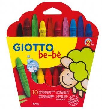 Ceras Giotto Be-bè 10 colores + sacapuntas