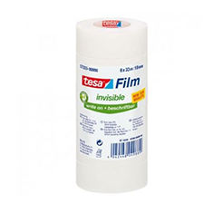 Cinta Tesafilm invisible 33x19mm torre 6 u.