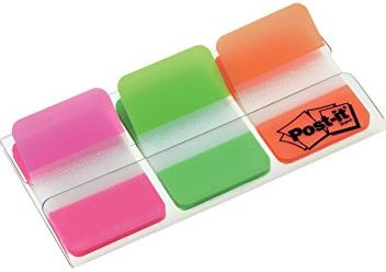 POST-IT INDEX RIGID (PACK 3 COLORS)