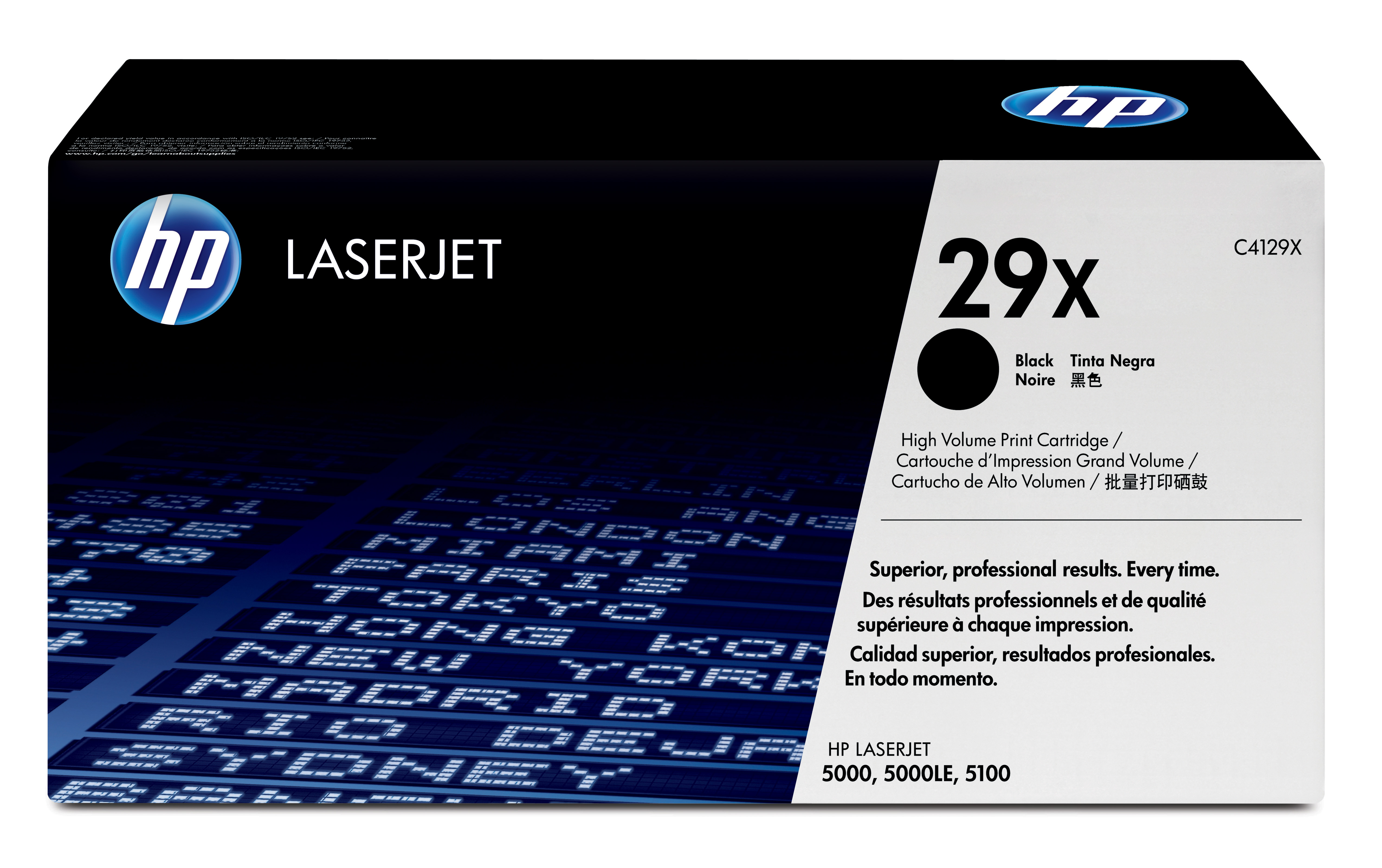 Toner láser HP 29X (C4129X) Negro