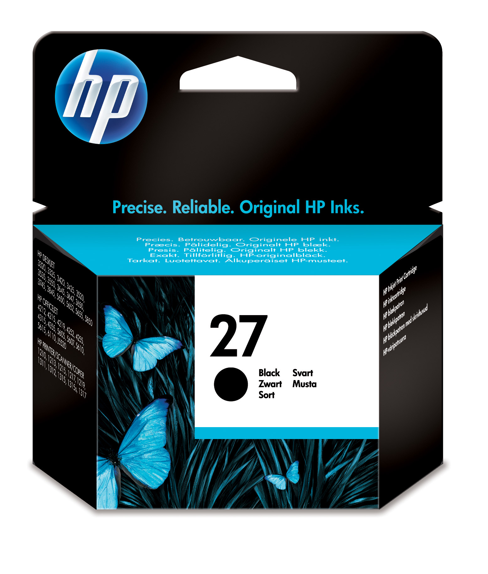 Cartucho inkjet HP 27 (C8727AE) Negro