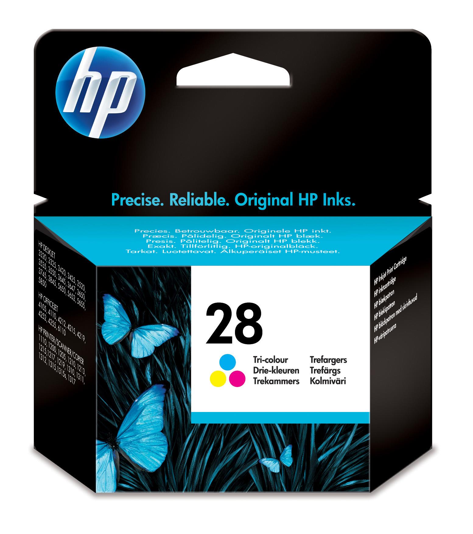 Cartucho inkjet HP 28 (C8728AE) 3 col