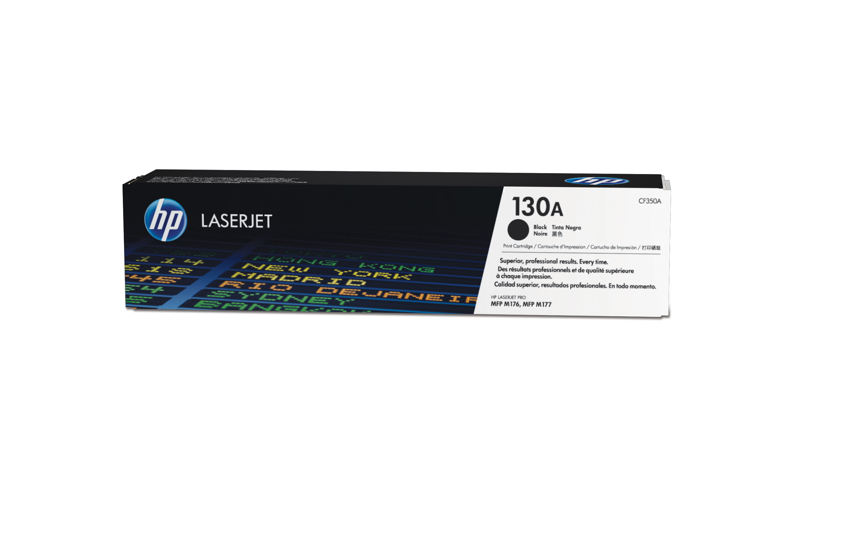 Toner láser HP 130A Negro