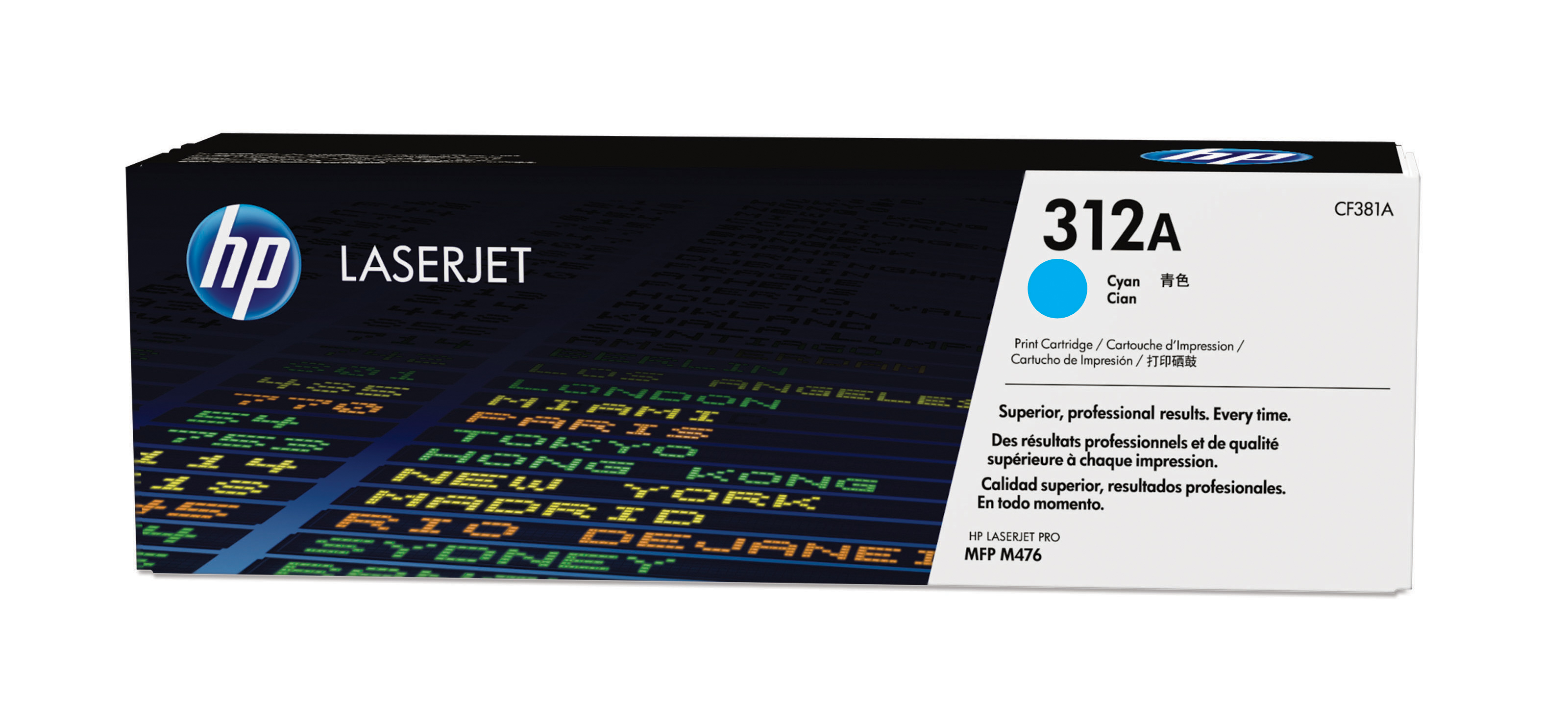 HP TONER CARTRIDGE LASERJET 312A CYAN M476