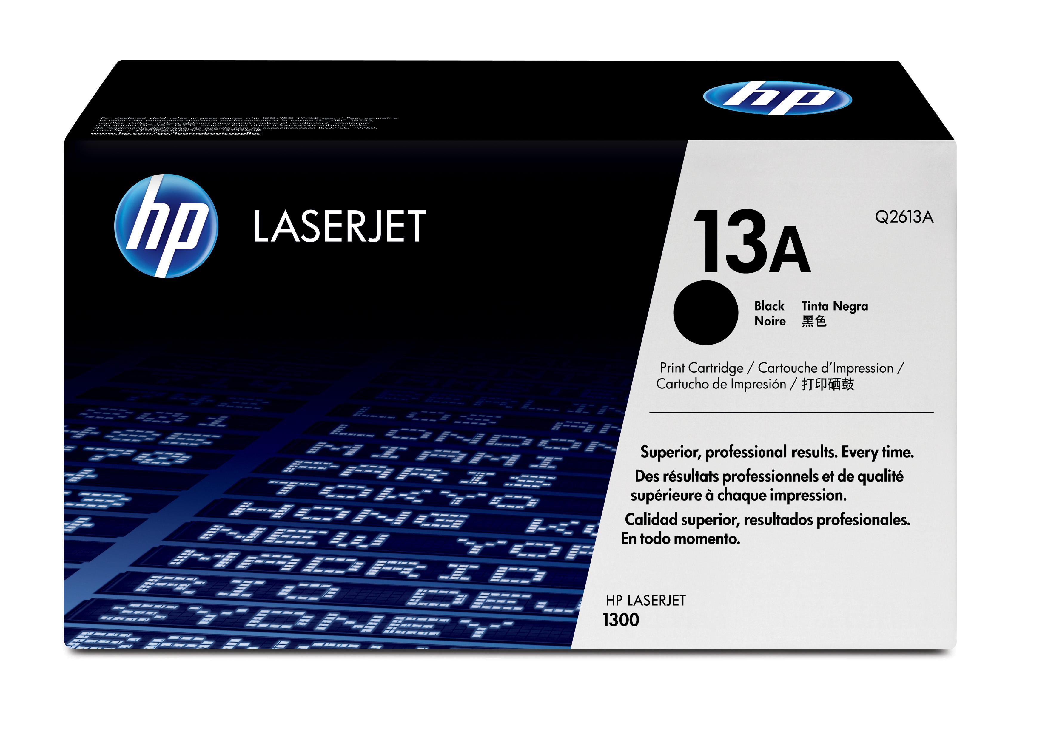 Toner láser HP 13A (Q2613A) Negro