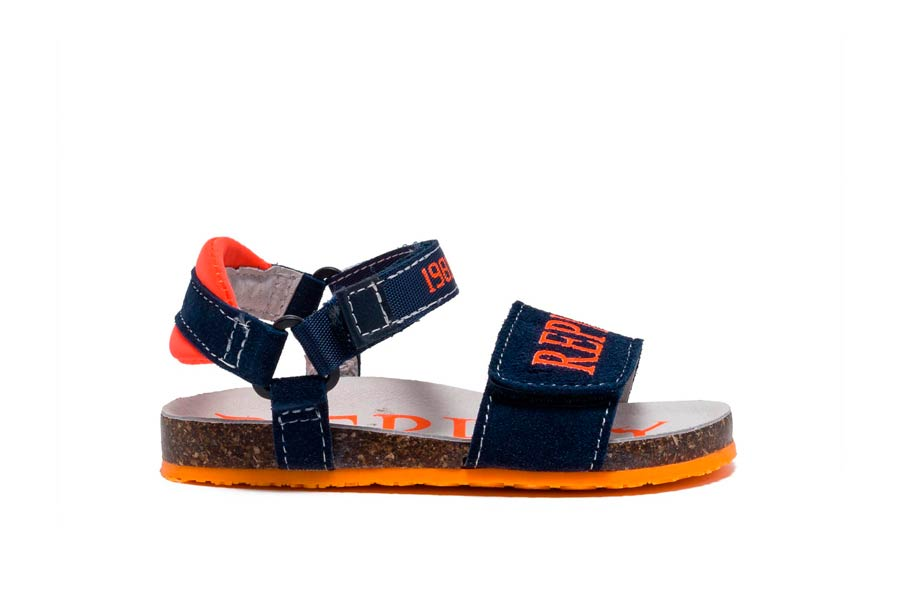 ABURDEES 2534 NAVY ORANGE FLUO