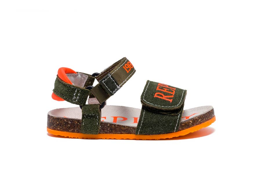 ABURDEES 2580 ARMY ORANGE FLUO