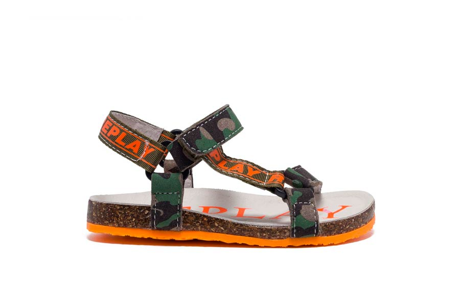 ADEN 2814 CAMO ARMY ORANGE FLUO
