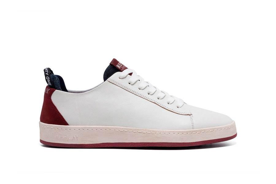 THORN 0067 WHITE DK RED