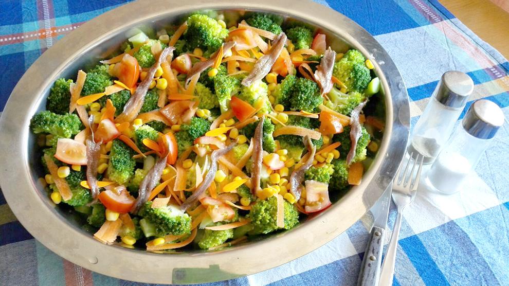 ensalada brocoli anchoas