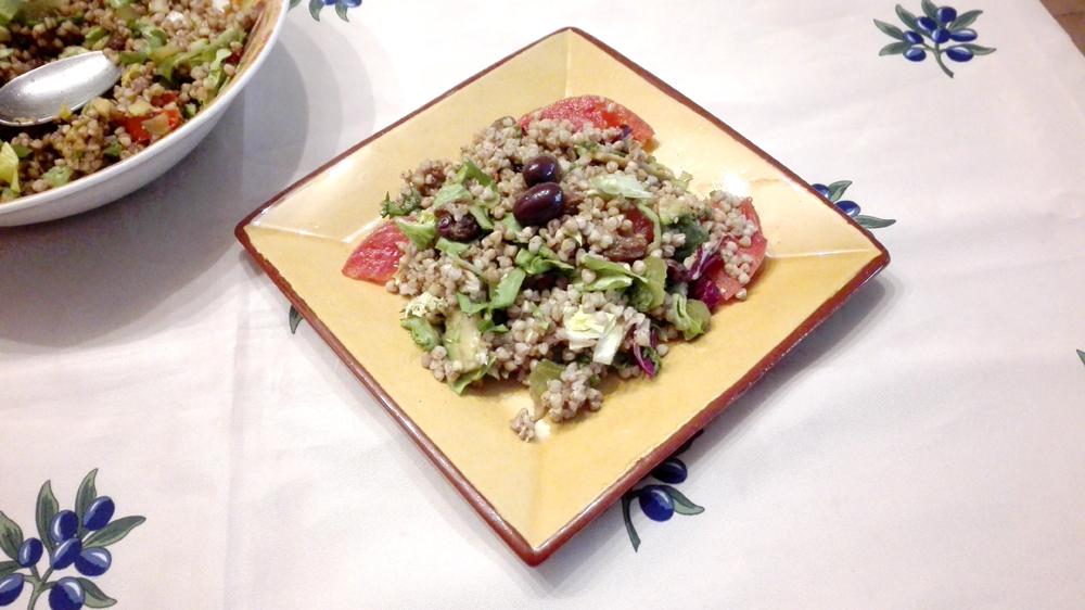 ensalada trigo sarraceno