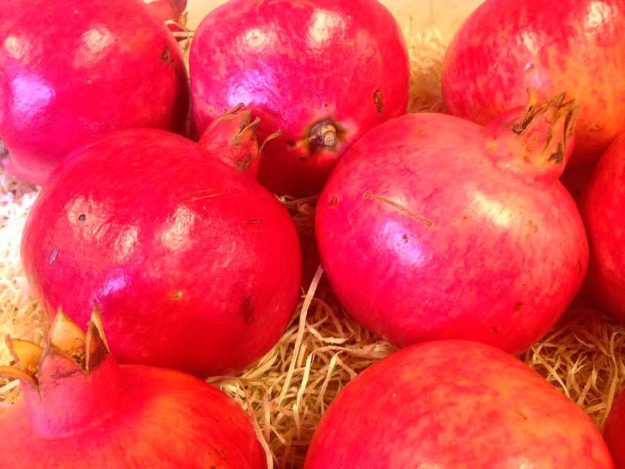Granada, la fruta del otoño y antioxidante natural