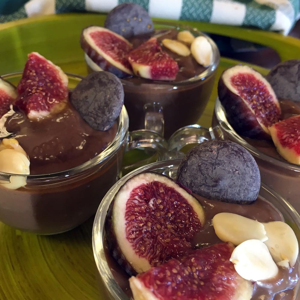 Natillas de cacao