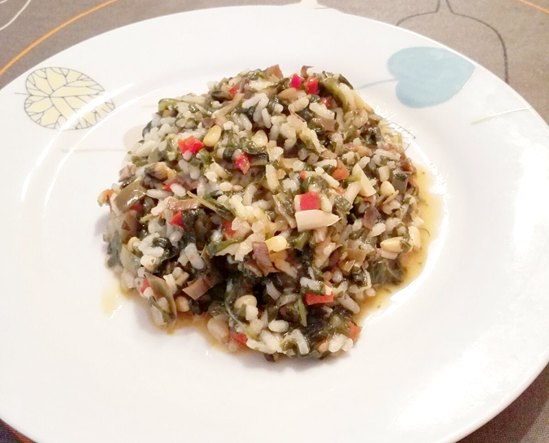arroz vegetariano