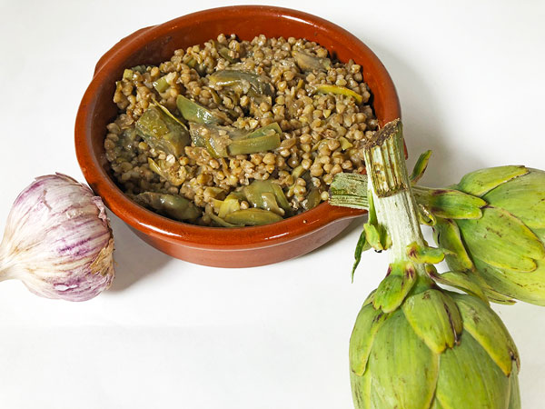 Receta Trigo Sarraceno Estofado