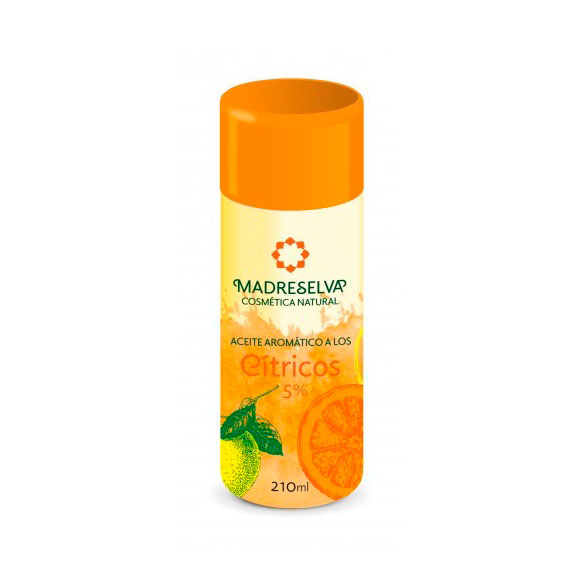 Aceite aromatico citricos 210 ml Madreselva