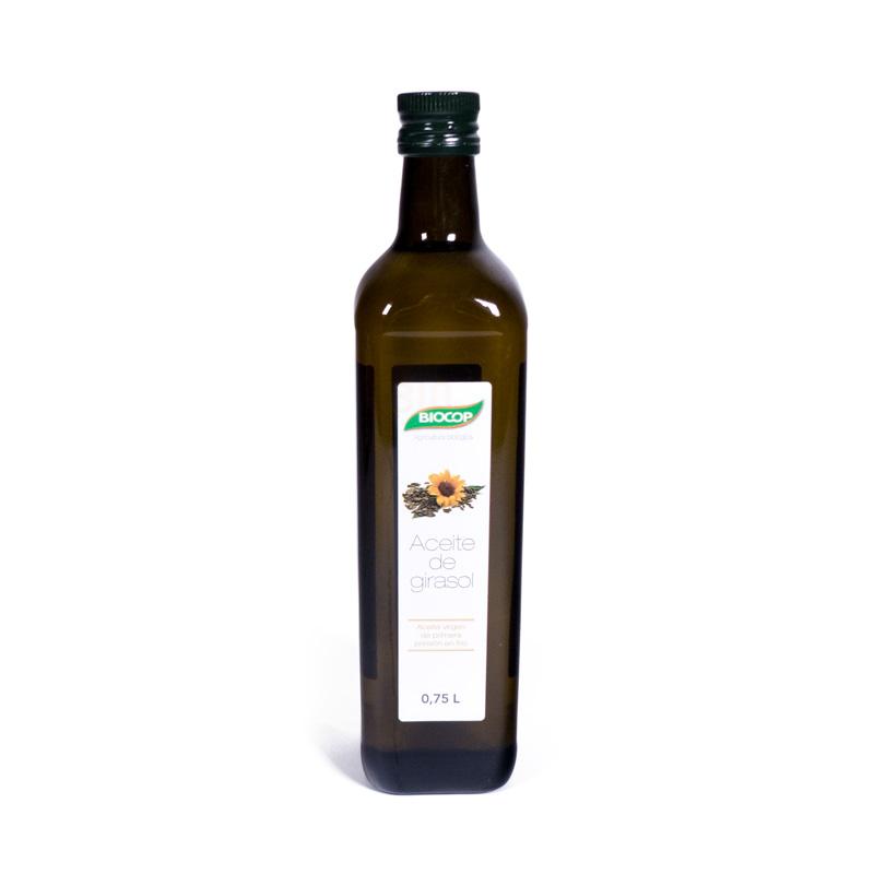 Aceite de girasol 750 ml  Biocop