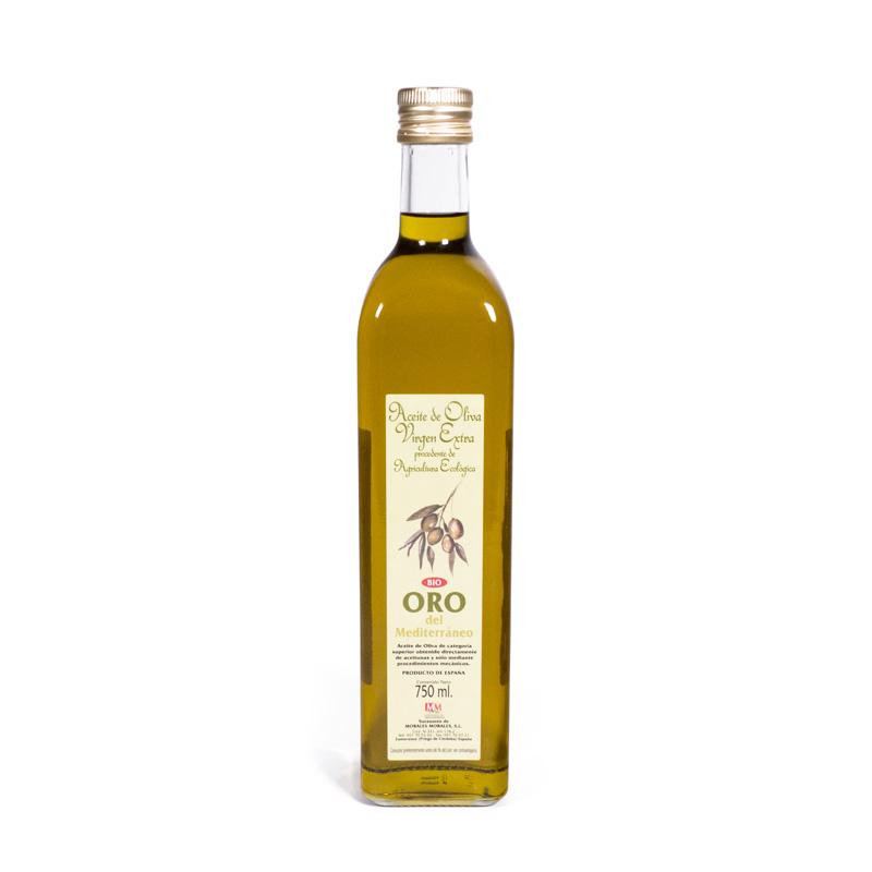 Aceite de oliva extra 750 ml. Oro