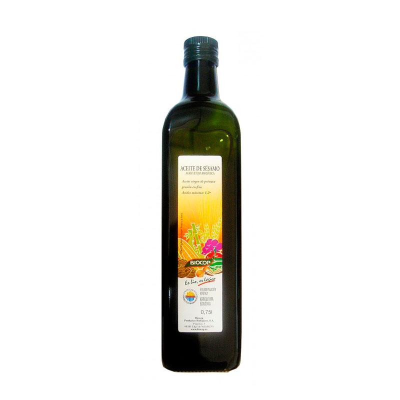 Aceite de sesamo 750 ml. Biocop
