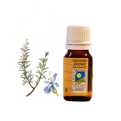 Aceite esencial Romero 10 ml. Ecoaromuz