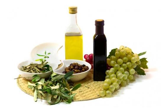 Aceite y vinagre ecológico