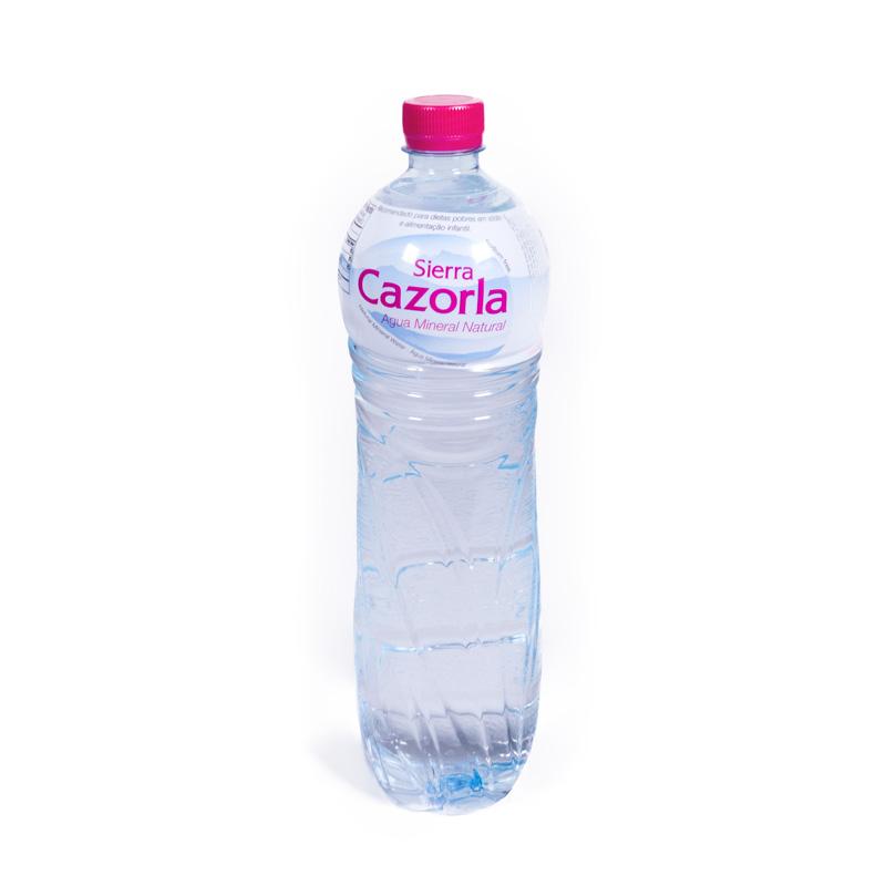 Agua 1,5 L. S. Cazorla