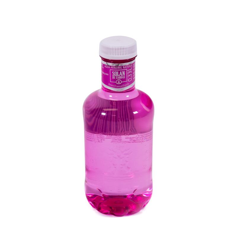 Agua 330 ml. Solan de Cabras (rosa)