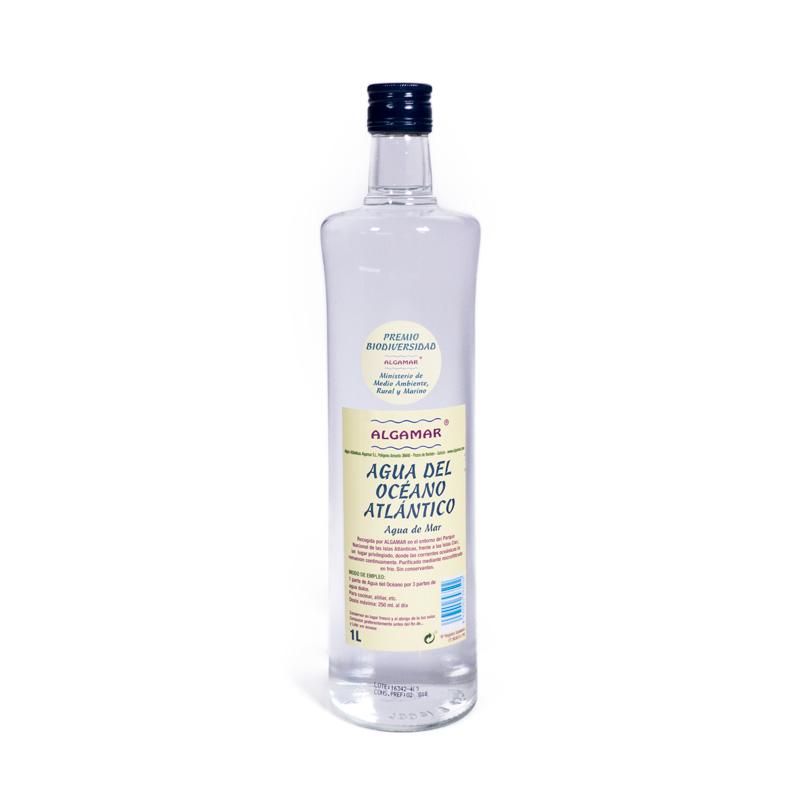 Agua de mar Atlantico 1 l. Algamar