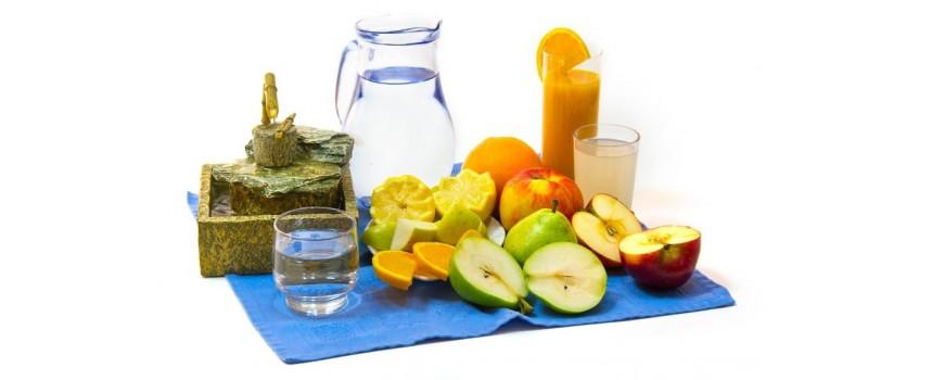 Aguas y zumos ecológicos