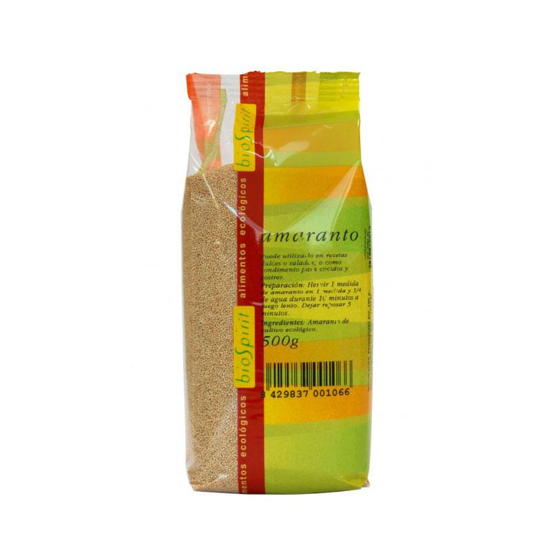 Amaranto en grano 500gr Biospirit