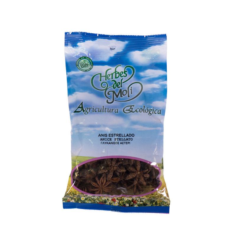 Anis estrellado granel 60 gr Herbes del Molí
