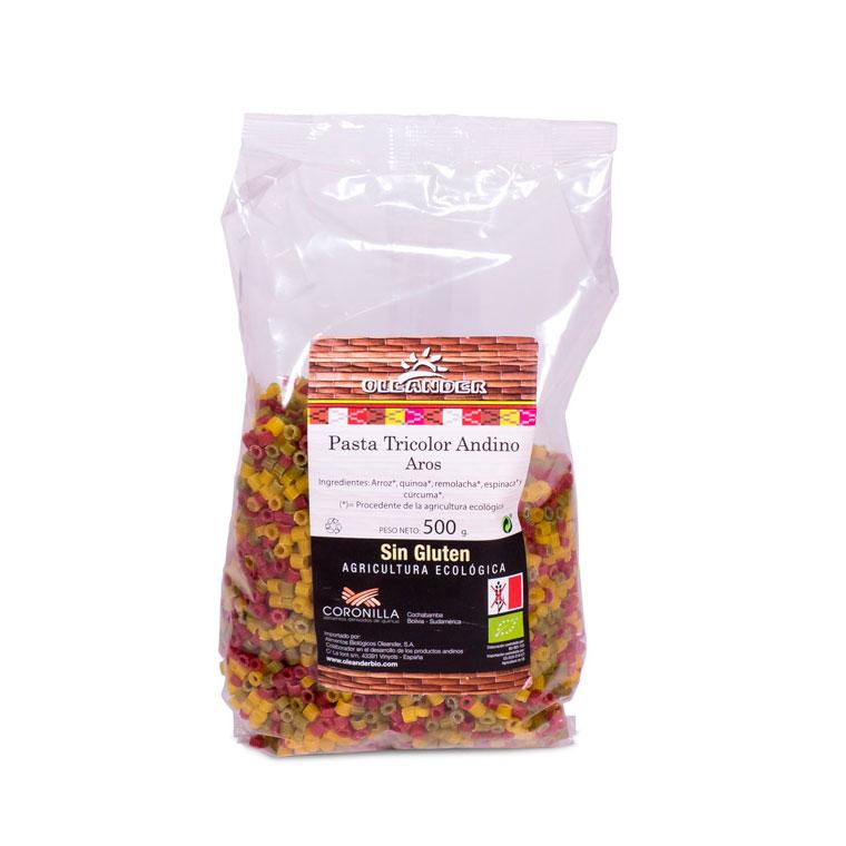 Aros tricolor sin gluten 500 gr. Oleander