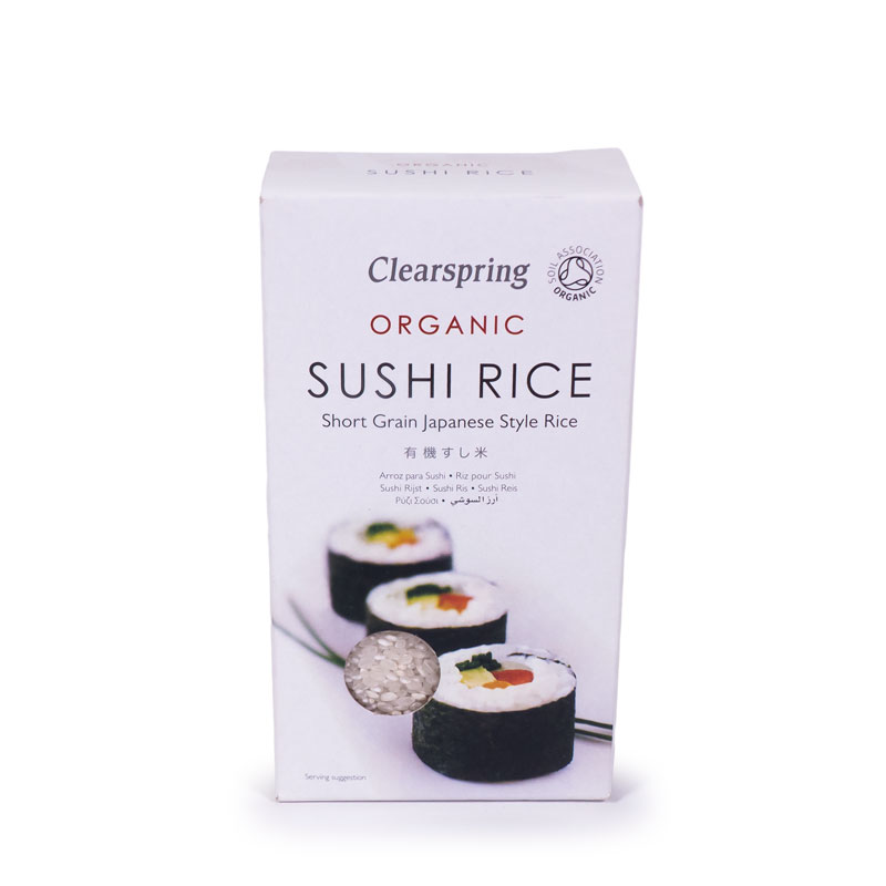 Arroz para sushi  500 gr. Clearspring