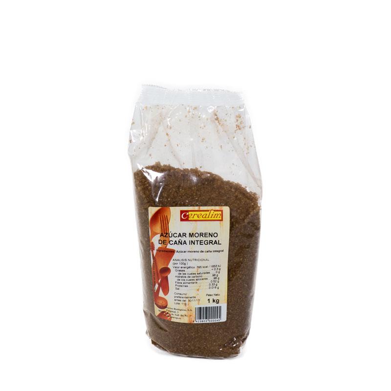 Azucar caña integral 1 kg. Cerealim