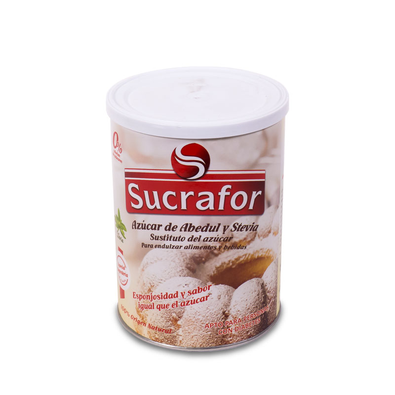 Azucar de abedul y stevia 800 gr. Sucrafor