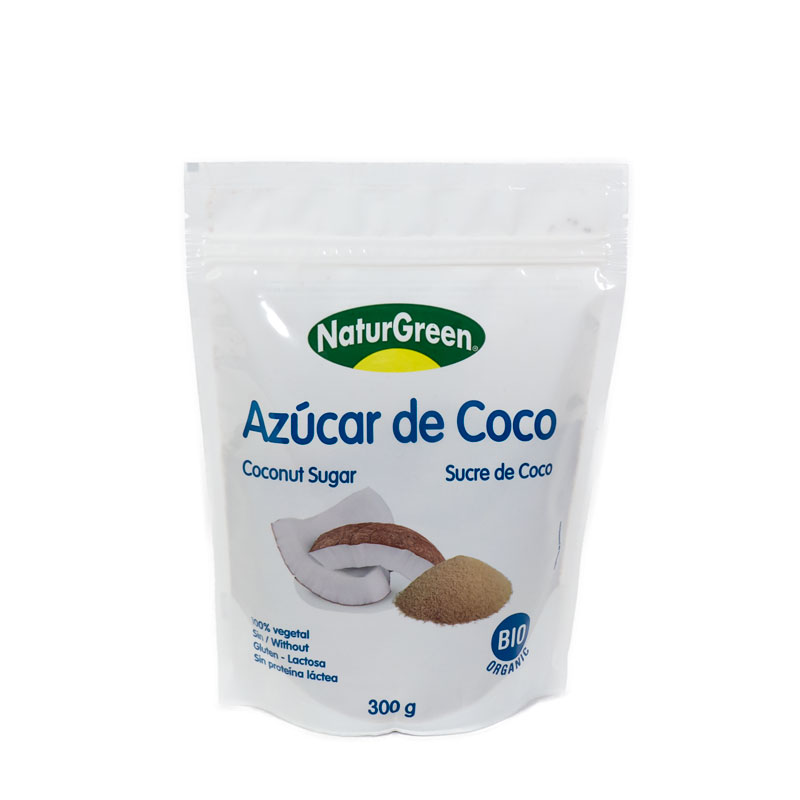 Azucar de coco 300 gr.  Naturgreen