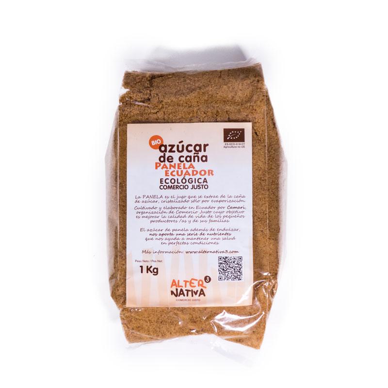 Azucar panela Ecuador 1kg.  Alternativa3