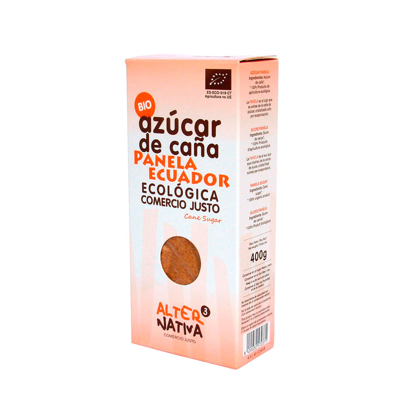 Azucar panela Ecuador 400 gr. Alternativa3