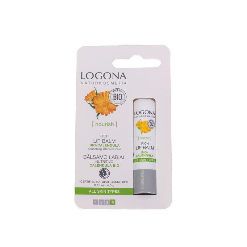 Balsamo labial nutritivo calendula Logona