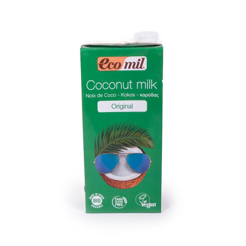 Bebida de coco agave 1L Ecomil
