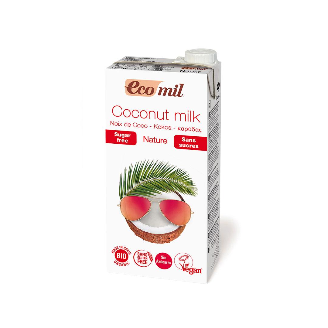 Bebida de coco 1L. Ecomil